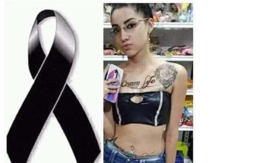 La joven Melany Steisy Amaya León, de 16 años, asesinada en Medellín.