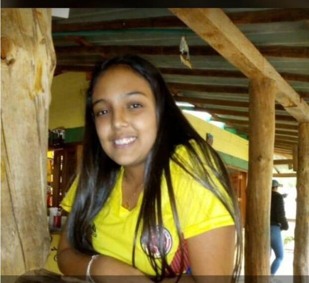 Isabela Ruiz Córdoba, desaparecida en Medellín/Foto publicada con autorización de la familia