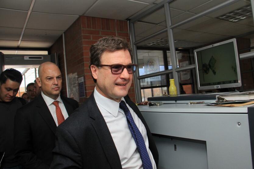 LUIS FERNANDO ANDRADE, EXPRESIDENTE DE LA ANI