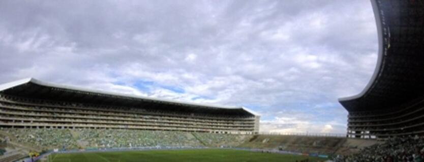 Tribuna sur del estadio del Deportivo Cali cerrada por 5 fechas.