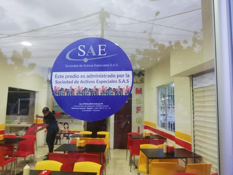 La SAE asumio administración de bienes