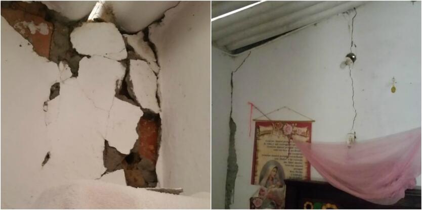 Temblor ocasionó daños en Los Santos