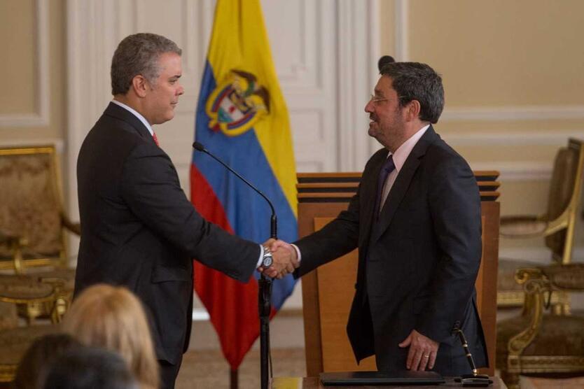 FRANCISCO SANTOS, NUEVO EMBAJADOR DE COLOMBIA ANTE EE.UU.