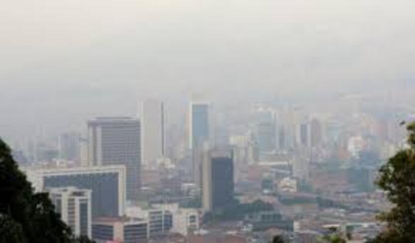 contaminación del aire, Medellín