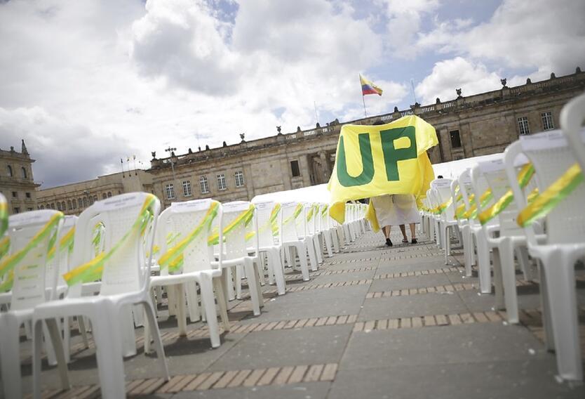 Durante más de 18 años los militantes de la UP sufrieron ataques, amenazas, intimidaciones, asesinatos y exilio de sus principales líderes.