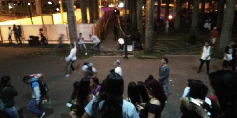 Noche de disfraces en Pereira