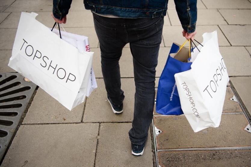 Compras en centros comerciales