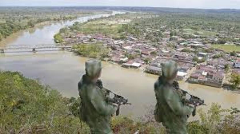 Enfrentamiento entre Eln y Epl en zona del Catatumbo