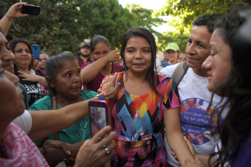 Imelda Cortez, joven de El Salvador acusada de abortar