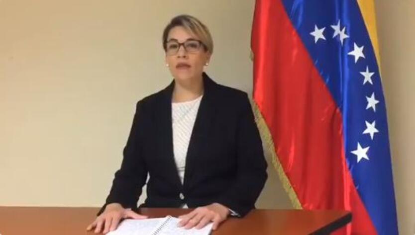 Cónsul de Venezuela en Miami, Scarlet Salazar.