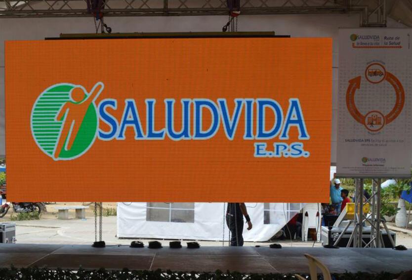 Foto publicada por Salud Vida EPS en su cuenta en Facebook