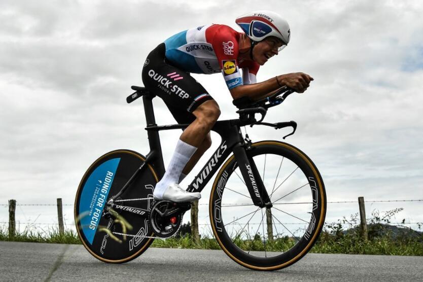 TOUR COLOMBIA. 4a etapa. Ganó Bob Jungels y es nuevo Líder