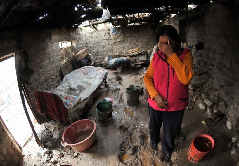 Deslizamientos de lodo en Perú