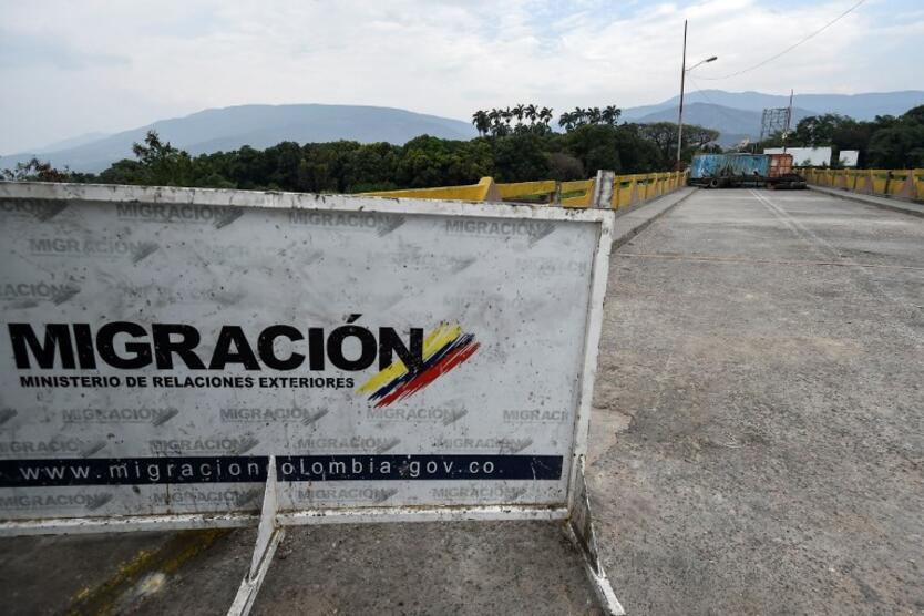 Frontera entre Colombia y Venezuela, en Norte de Santander
