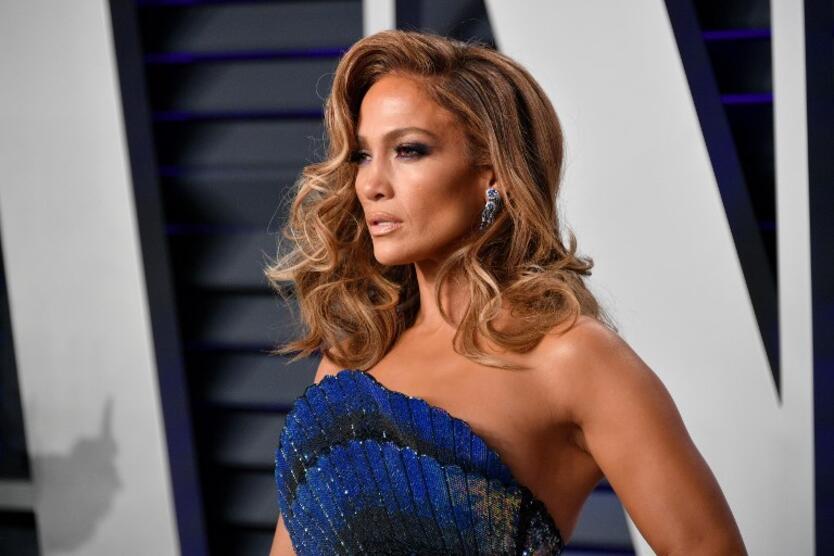 Jennifer López en la fiesta de Vanity Fair post-Oscar