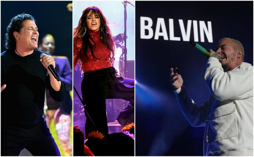 Carlos Vives, Camila Cabello y J Balvin