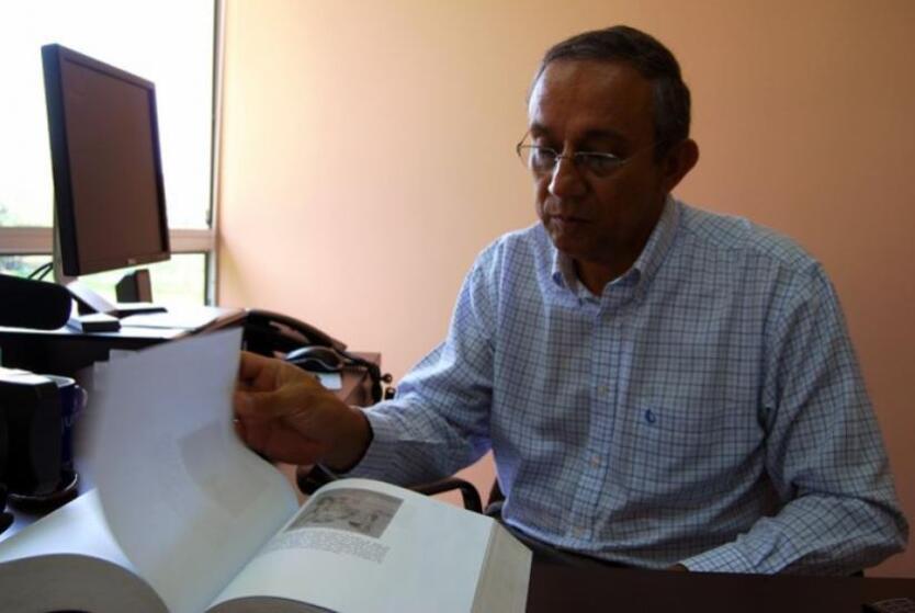Darío Acevedo Carmona, historiador y profesor de la Universidad de Antioquia.