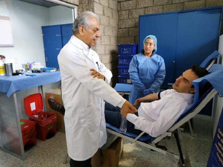 Donación de sangre en Bogotá