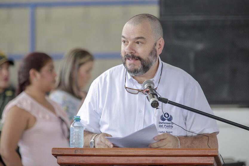 Carlos Negret, Defensor del Pueblo