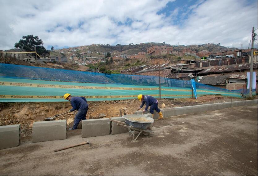 Construcciones en Ciudad Bolívar