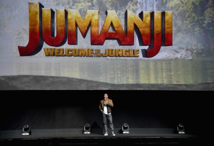 Dwayne Johnson, Jumanji