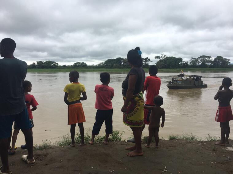 Ya son cinco niños muertos en medio del confinamiento por combates en Chocó