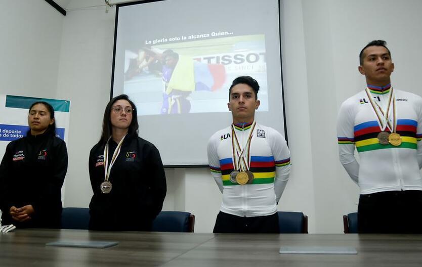 Ganadores Mundial Paracycling
