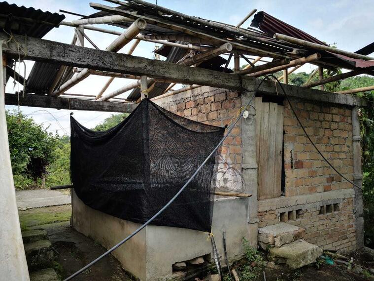 Los vendavales causaron daños en 6 poblaciones
