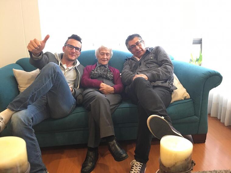 Mercedes Zuluaga tiene 104 años