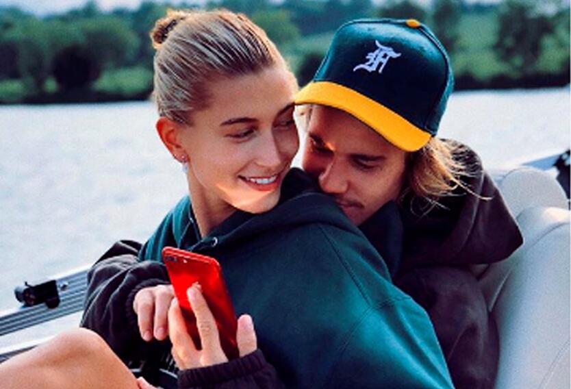 Justin Bieber y su esposa Hailey Baldwin