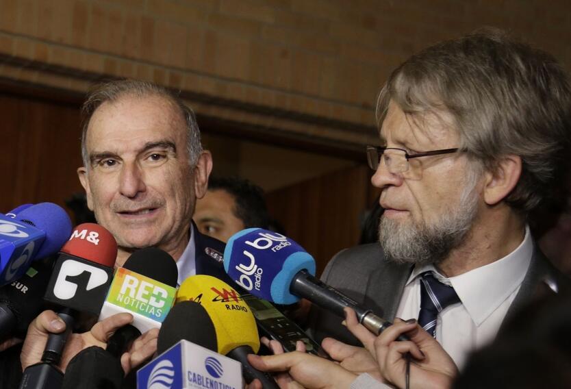 Humberto de la Calle y Antanas Mockus