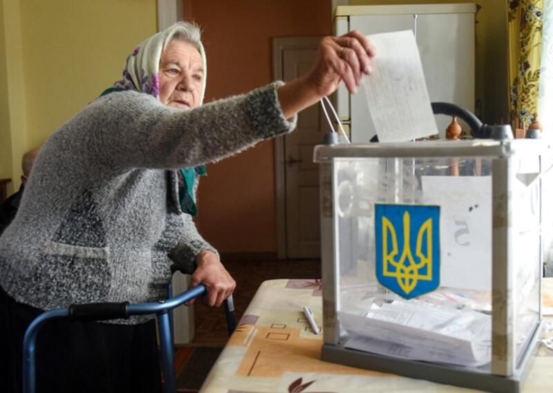 Elecciones en Ucrania.