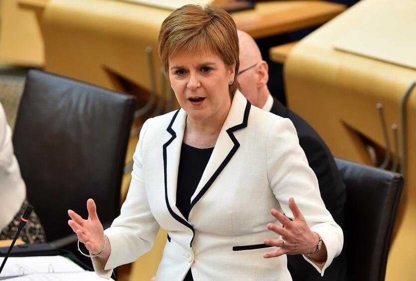 La primera ministra de Escocia, Nicola Sturgeon, impulsará un referéndum de independencia del Reino Unido
