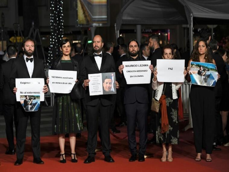 Protestas en Cannes