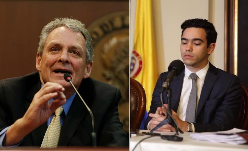 Juan José Echavarría y Luis Alberto Rodríguez