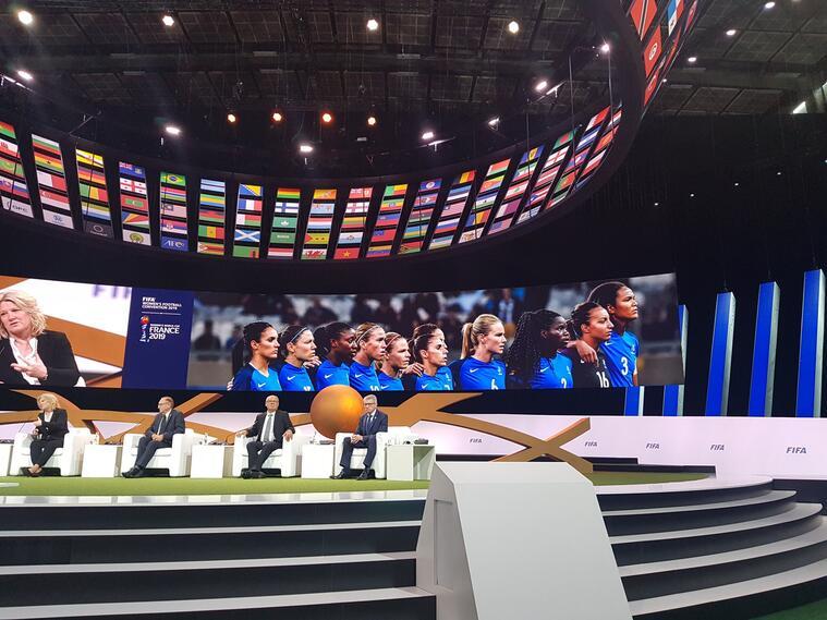 Convención del Futbol Femenino a proponer la sede del próximo mundial en Colombia