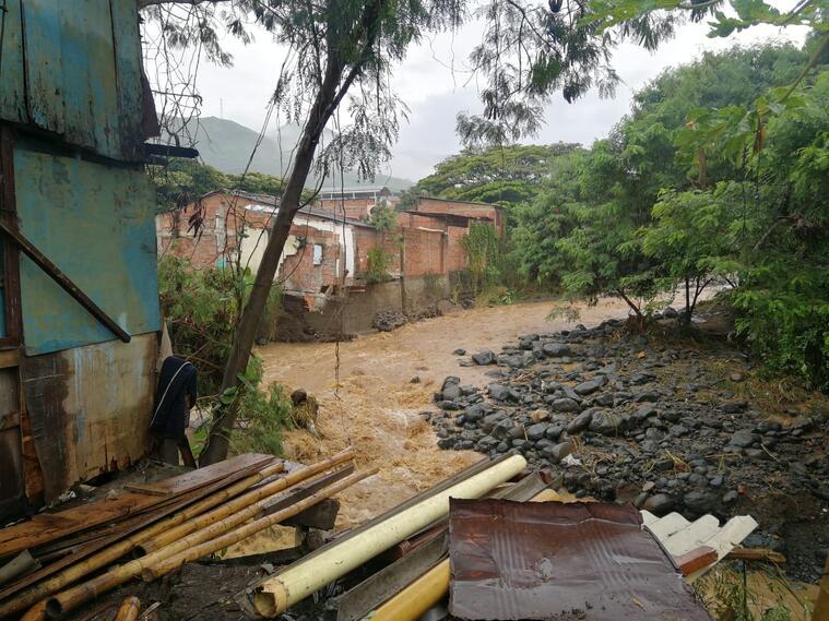 Las lluvias han ocasionado afectaciones a 27 municipios del Valle, lo que mantiene en alerta a los organismos de socorro.