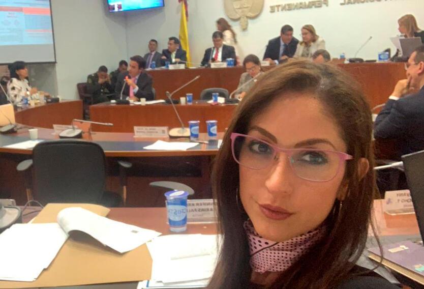 Jennifer Arias, representante a la Cámara del Meta por el Centro Democrático