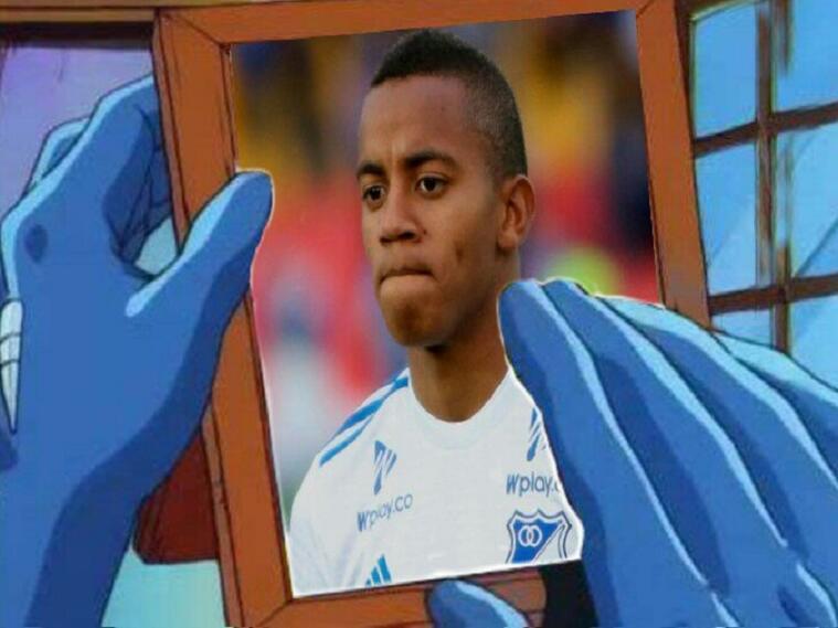 Memes de la derrota de Millonarios