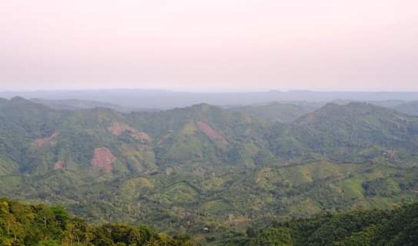 """Se trata de una reserva forestal """"María Helena"""", que permitirá atraer el turismo a las Altas Montañas."""