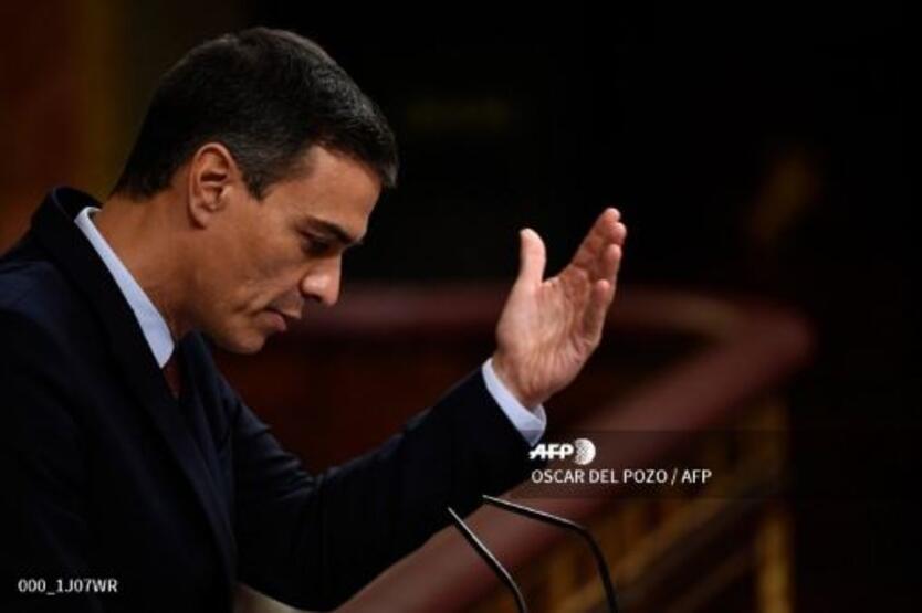 Pedro Sánchez en discurso de investidura