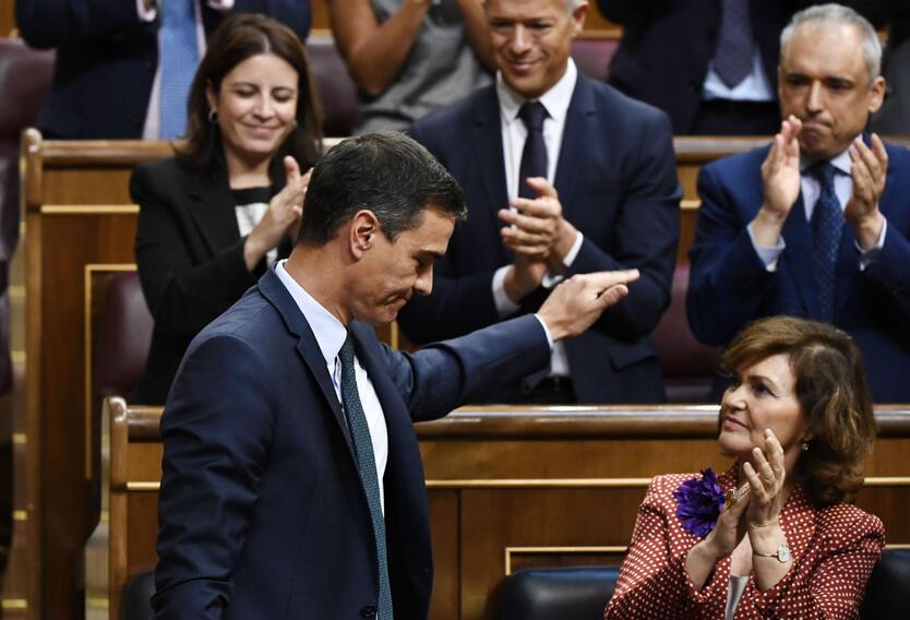 Pedro Sánchez, presidente del Gobierno español no logró acuerdo para su reelección.