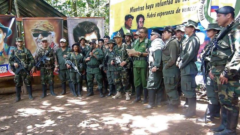 Video de Iván Márquez, Jesús Santrich y El Paisa, anunciando que regresan a las armas.