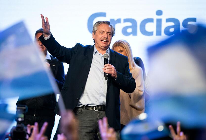 Alberto Fernández ganó en las elecciones primarias en Argentina