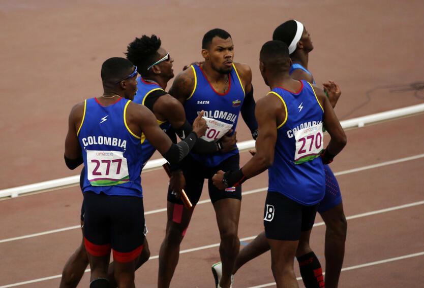 Selección Colombia de Atletismo en los Juegos Panamericanos 2019