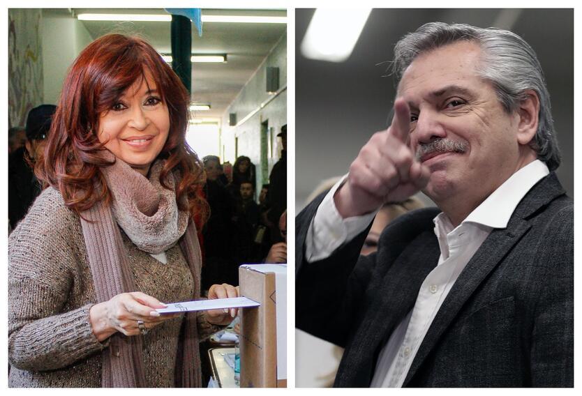 Alberto Fernández con Cristinade Kirchner
