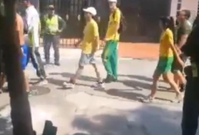 Disturbios de hinchas del Atlético Bucaramanga