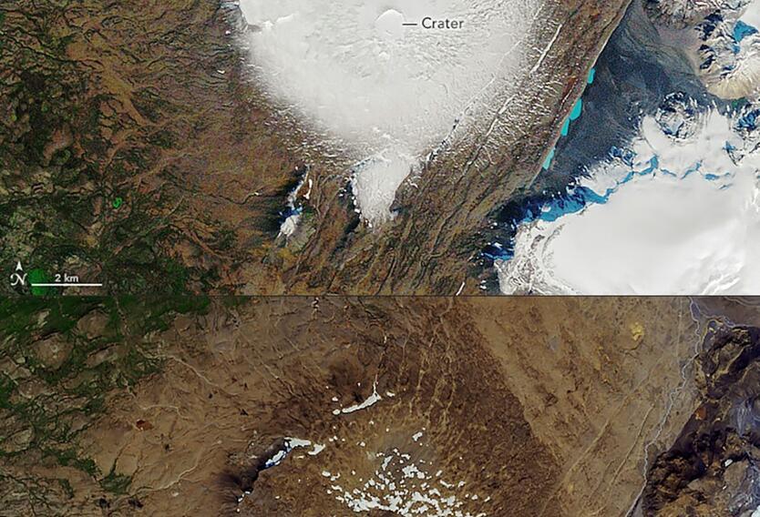 La situación en Islandia se convirtió en una oportunidad para los científicos de alertar sobre las consecuencias del cambio climático.