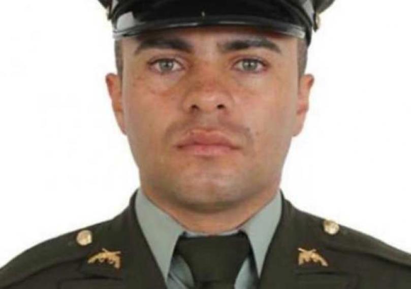 Óscar Leonardo Guevara, patrullero encontrado sin vida en Bogotá