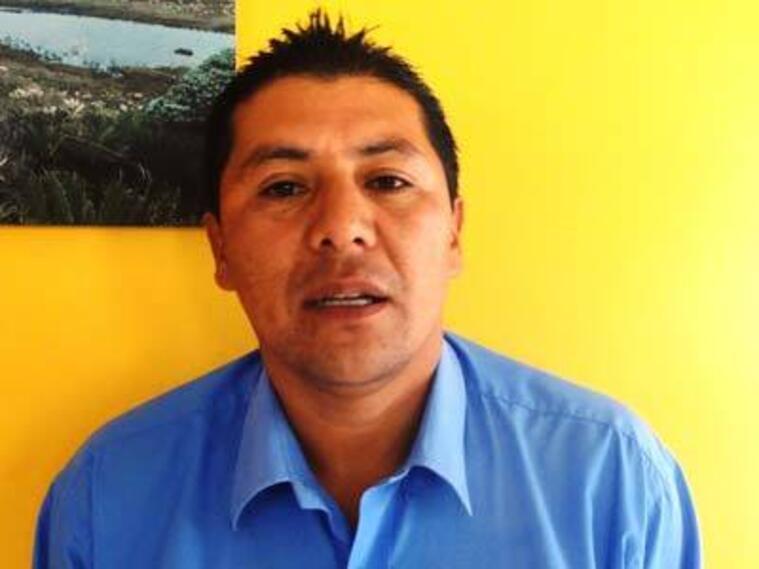 Óscar Lombana, candidato secuestrado en Nariño